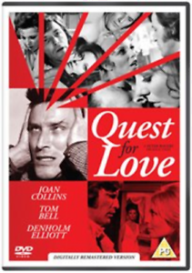Joan-Collins-Tom-Bell-Quest-for-Love-DVD-NUOVO