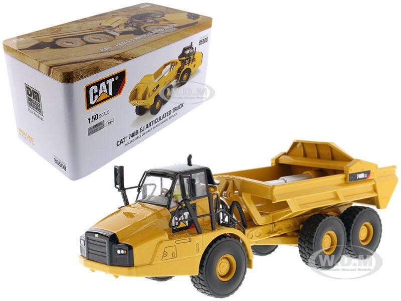 Cat Caterpillar 740B EJ camiones articulados 1 50 por Diecast Masters 85500