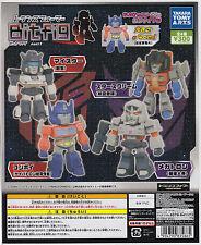 Transformers Figure Bit Fig Part 1 Gashapon Complete Set (4) TakaraTomyARTS
