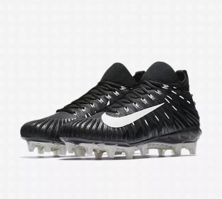 NIKE ALPHA MENACE ELITE NFL FOOTBALL CLEATS RAIDERS 871519 010 US MENS Sz 13