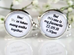 eec14c95b21 Many Walks Quote Personalised Dad Father Of The Bride Wedding ...