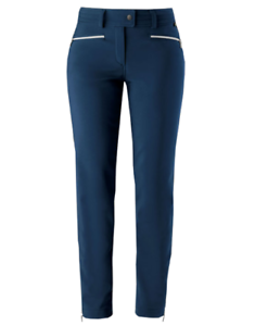 ROBERTA TONINI P919 S2W blueE Women ski pants tights Size XS 34