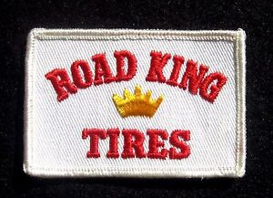 ROAD-KING-TIRES-EMBROIDERED-SEW-ON-ONLY-PATCH-AUTO-LOGO-UNIFORM-3-1-2-034-x-2-1-4
