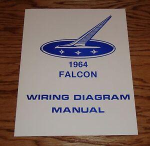 1964 Ford Falcon Wiring Diagram Manual 64 | eBay