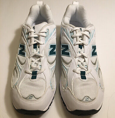 New Balance 504 Women's Cross Training Shoes Size 11 White And ...