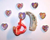 Children's Adult's Hearing Aid Or C.i. Charms 7 Pc. .sofia The 1st Collection