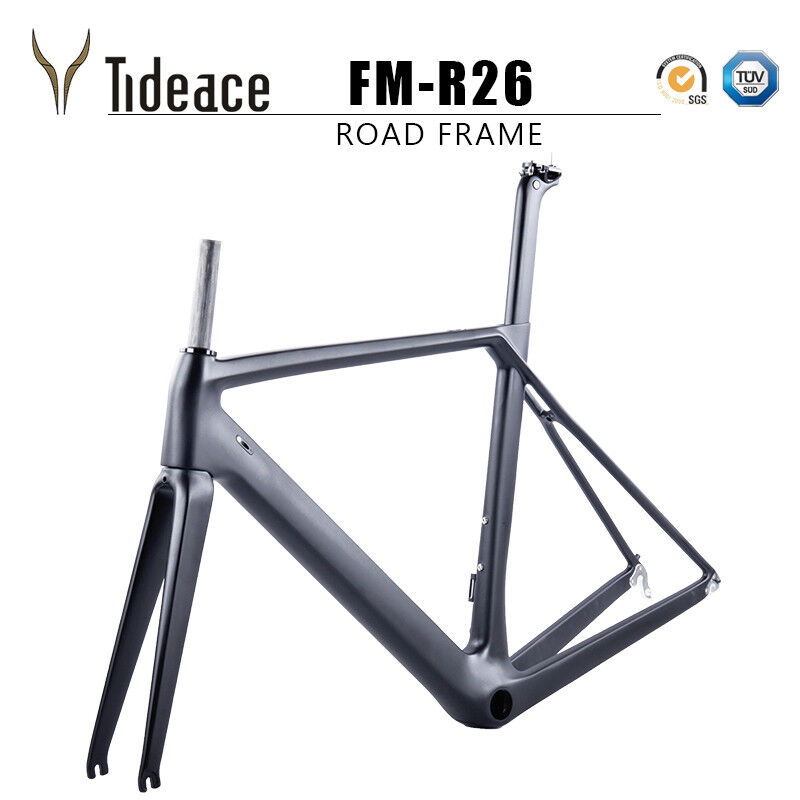 Aero voiturebon Fiber Road Racing Bicycle Frames 1359mm 47 49 51 53 55cm Bike Frame
