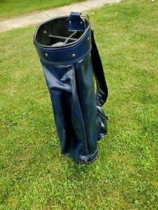 Pro Classic Golf Small Sunday Vinyl Carry Bag Par 3 Driving Range Practice