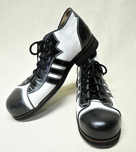 Professional Real Leather Clown Shoes
