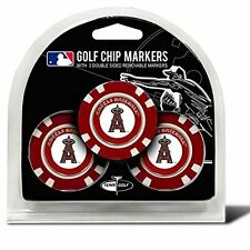 """LOS ANGELES ANGELS MLB Golf Ball Markers / Poker Chips """"NEW"""""""