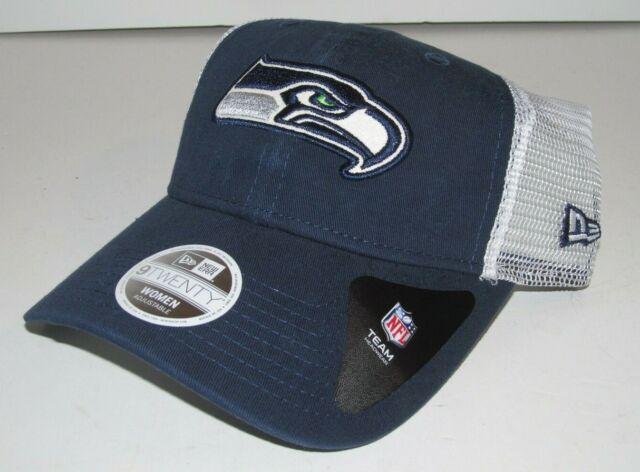 huge discount ed141 d2195 Seattle Seahawks NFL Women s New Era 9Twenty Mesh OSFM Snapback Cap Hat