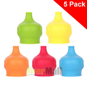 Food-Grade-Silicone-Kids-Baby-Sippy-Lids-Make-Most-Cups-a-Sippy-Cup-Leak-Proof