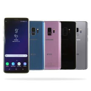 Samsung-Galaxy-S9-G960FD-Dual-SiM-Schwarz-Blau-Lila-Gold-Gebraucht