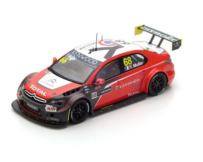 Citroën C-Elysée WTCC n°68 Winner R2 Race of Japan Muller S5096 Spark 1 43 New
