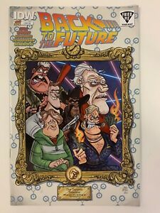 IDW-BACK-TO-THE-FUTURE-1-FRIED-PIE-EXCLUSIVE-COVER-NM-CONDITION
