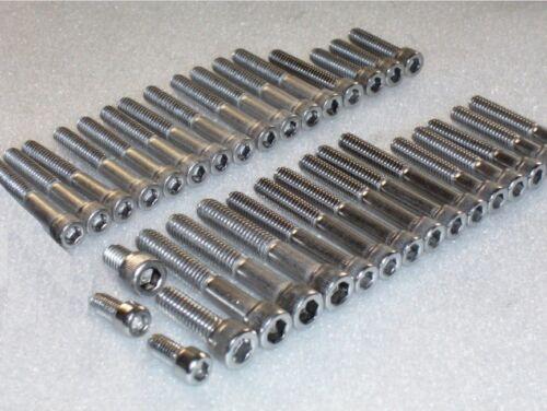 moteur Inoxydable UNC Bsf Douille Vis Allen Boulon Kit 34pc Bras Oscillant BSA A7 A10