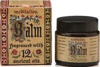 Meditation Balm Meditation Range Blend Of 12 Essential Oils Made In Aust-60g Jar
