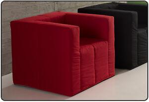 Poltrona letto lea trasformabile in lettino singolo for Poltrona pouf letto ikea