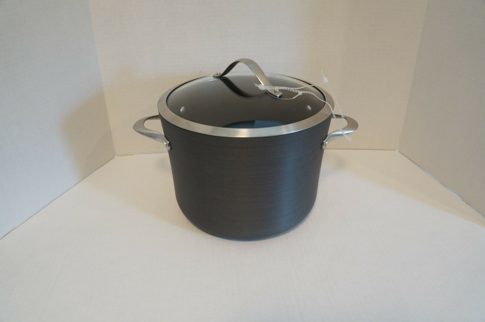 Calphalon 8 qt Olla contemporáneo Antiadherente Utensilios de cocina de aluminio anodizado duro