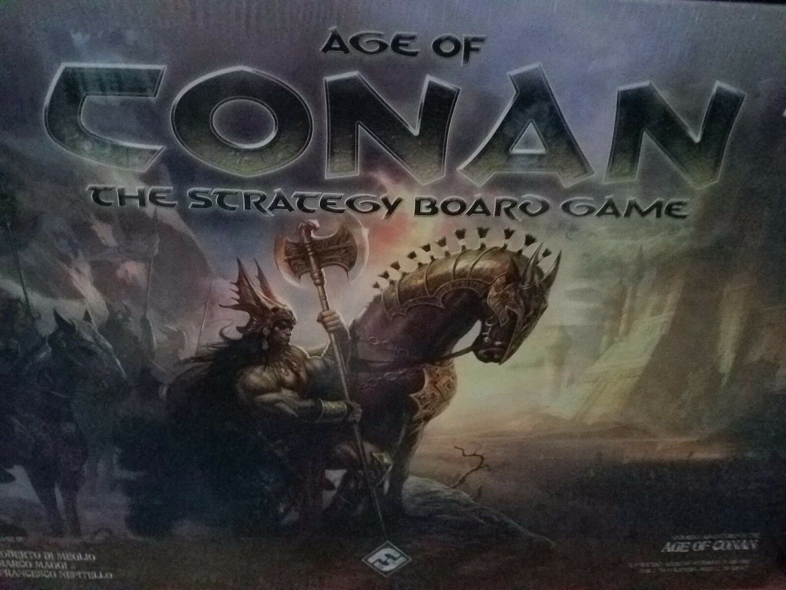 Age of Conan the Strategy Board Game - Fantasy Flight Games Board Game New