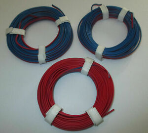 0-397-M-Twin-Braid-Wire-3-X-5m-Red-Blue-New
