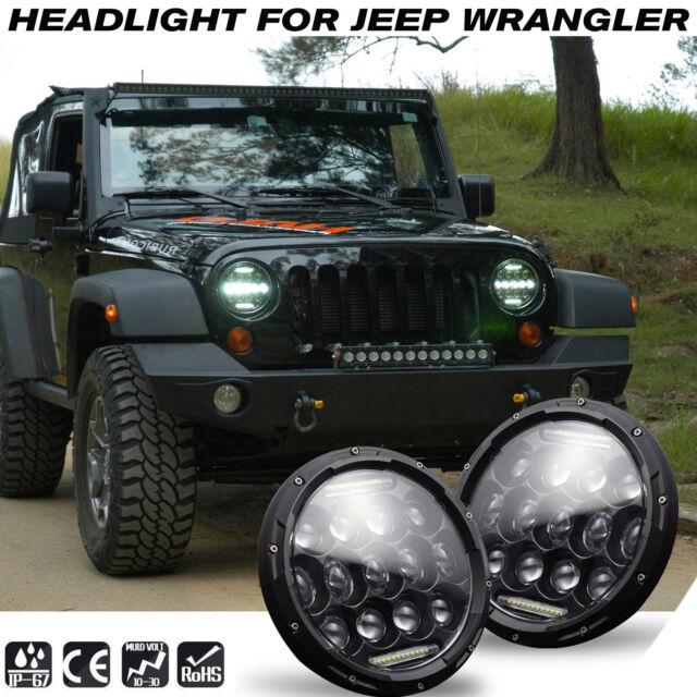 """Range Rover Classic 7/"""" projecteur Light Bowl Kit x2-Bearmach-BA 051"""
