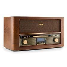 RETRO RADIO MUSIC STEREO SYSTEM WIRELESS SPEAKER USB CD MP3 PLAYER REMOTE DAB+