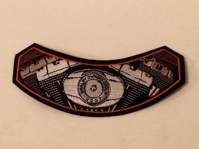 Harley Owners Group 2007 sew on patch