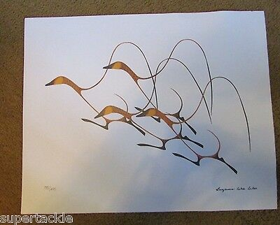 BENJAMIN CHEE CHEE Woodlands Print Autumn Flight COA Limited Edition Numbered