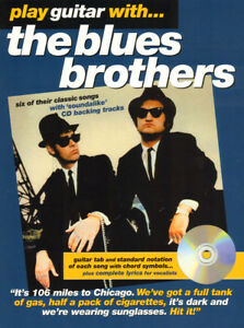Play-Guitar-with-The-Blues-Brothers-Gitarre-Noten-Tab-mit-Play-Along-CD