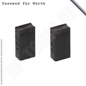 C10 Kohlebürsten für Bosch GBH 7-46 GBH7-46 GBH7 6,3x12,5x24 mit Service Kabel
