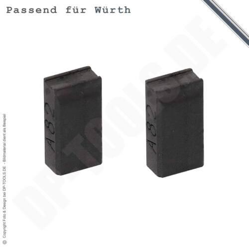 Kohlebürsten Kohlen Motorkohlen für Würth STP 110-ES 5x8mm