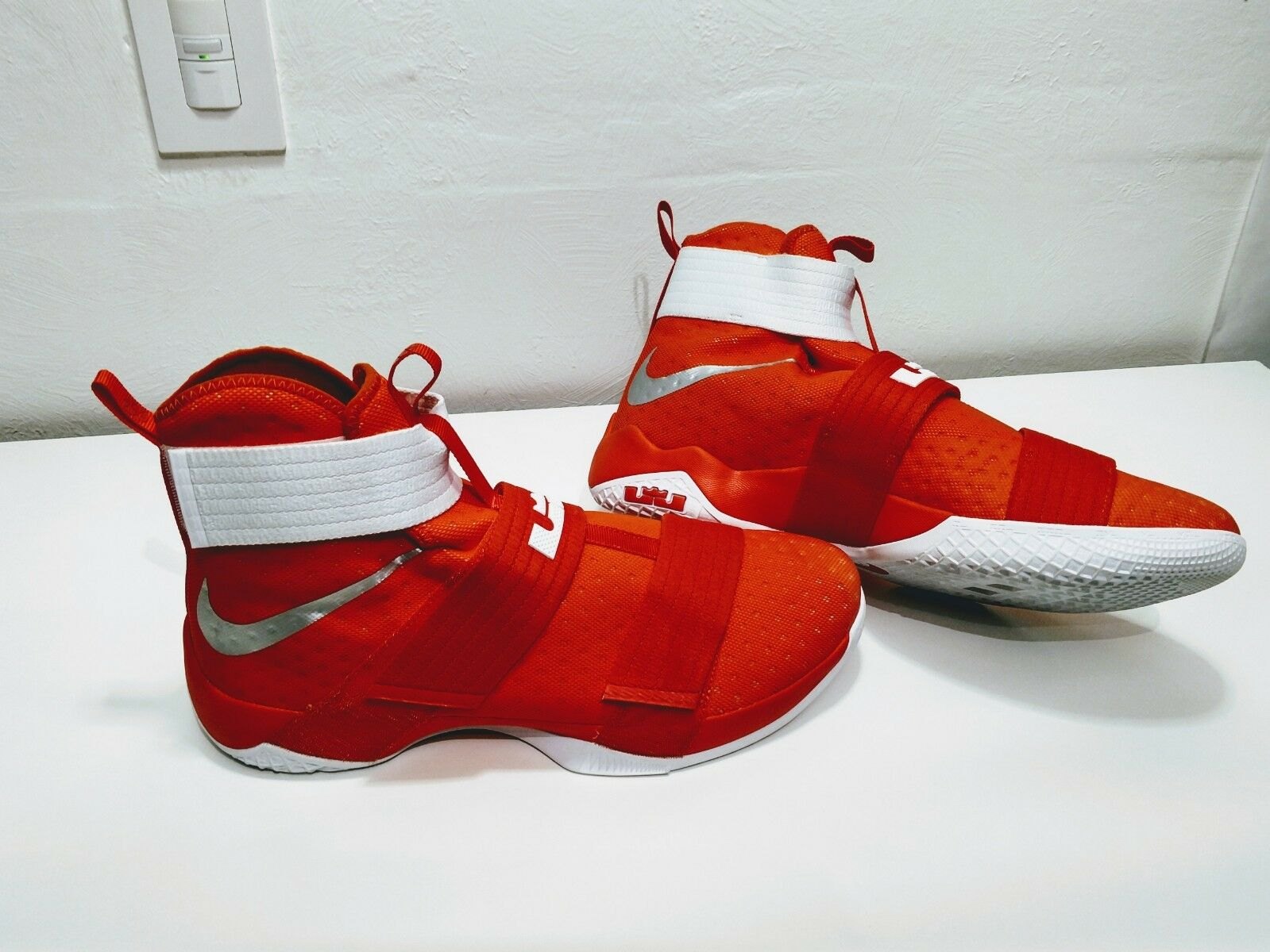 Nike lebron lebron lebron soldat 10 tb promo - basketball selten orange sz.17 856489-883 6eb218