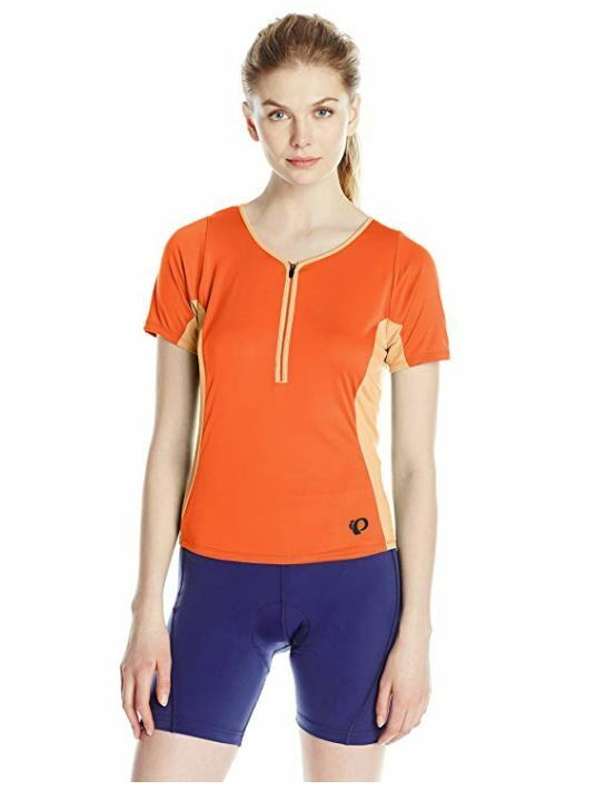 Pearl Izumi - Ride Women's Canyon Jersey, Mandarin Red,  XL  global distribution