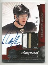 10-11 Nick Johnson The Cup Auto Rookie Card RC #135 Sweet Jersey Patch 099/249