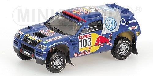 Volkswagen Race Touareg granted Winners Rally por las Pampas  2005 1 43 Model  soutenir le commerce de gros