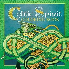 Celtic Spirit Coloring Book Knotwork Designs For Inner Peace Serene