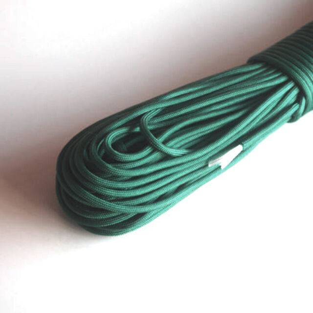 New Paracord 550 Parachute Rope 7 Core Strand 100FT For Camping Outdoor