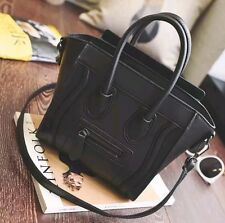 Black Handbag Purse Mini Luggage Not Celine Phantom Shopper Hand Bag