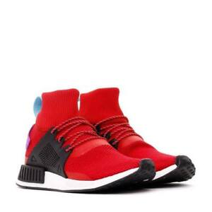 a7c404fff6831 NIB ADIDAS NMD XR1 WINTER BZ0632 MEN SHOES SCARLET BLACK PURPLE 9.5 ...