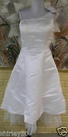 Light In The Box Wedding Bridal Dress Sz 12 One Shoulder / Gorgeous Flower