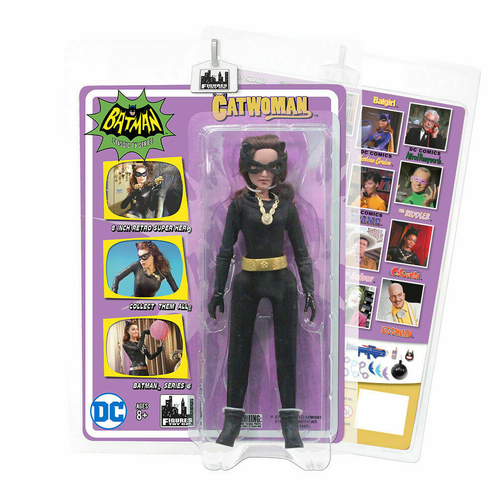 Catwoman Julie Figures Toy Company Batman Classic 66 Series 6 Action Figure NIB
