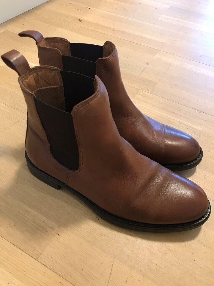 Støvletter, str. 39, Shoedesign – dba.dk – Køb og Salg af