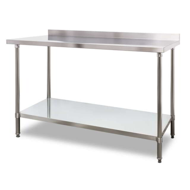 Stainless Steel Kitchen Work Table: 1500mm X 700mm Stainless Steel Kitchen Work Bench Prep