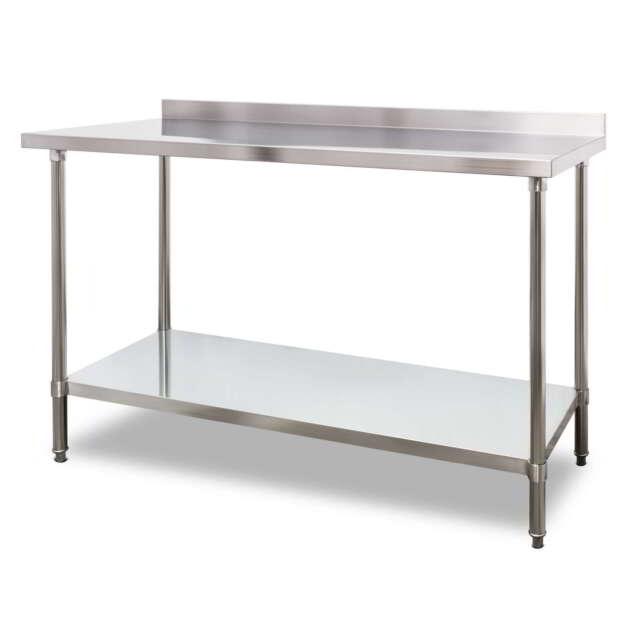 1500mm X 700mm Stainless Steel Kitchen Work Bench Prep