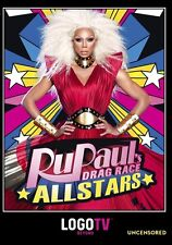 RuPaul's All Star Drag Race Uncensored -  DVD - REGION 1 - Sealed