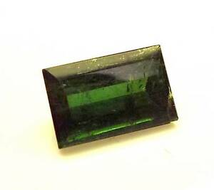 .88 CT STEP RECTANGLE EMERALD CUT LOOSE FACETED GREEN TOURMALINE (GT3-19)