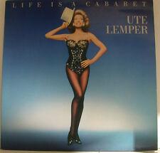 """UTE LEMPER - LIFE IS A CABARET 12"""" LP FOC (i136)"""