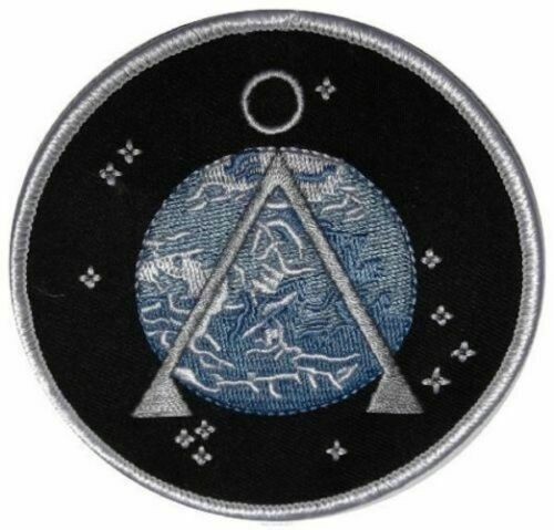 Stargate SG-1 TV Series Project Earth Logo Embroidered Iron on Patch