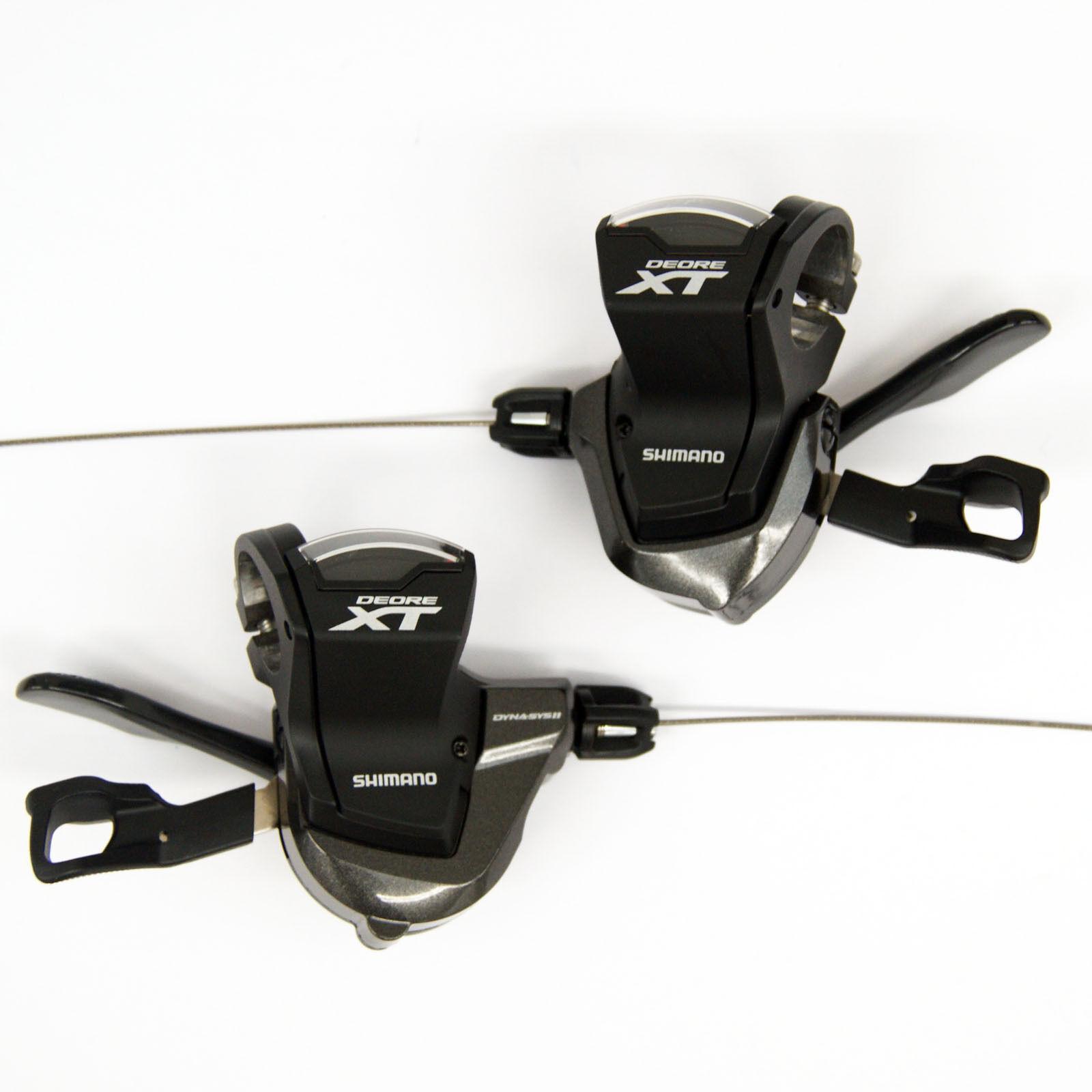 Shimano Deore XT SL-M8000 Shift Palancas Izquierda y Derecha (Par) ISLM8000PA2